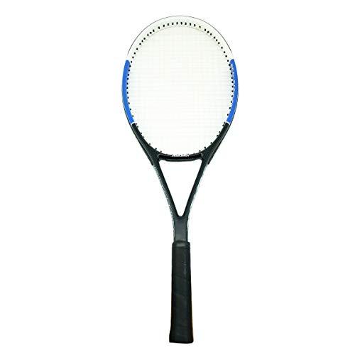 Rayline Sport Serie - Tennis Schläger TR002 für Erwachsene (Farbe: Blau/Weiß), 27 Zoll - Gesamtlänge: ca. 69 cm - Gewicht: 318g / passend für Anfänger und Gelegenheitsspieler