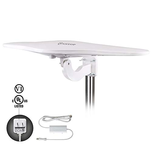 Outdoor/RV HDTV Antenna - ANTOP Omni-Directional Wing TV Antenna with...