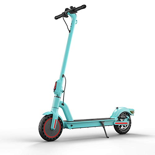 Electric Scooter for Adult-22 Miles Long Distance, 15.6 mph Top Speed, 15 Degree Slope, 220lb top Weight for Adult Electric go Kart, Easy Folding Kick Scooters (Blue)