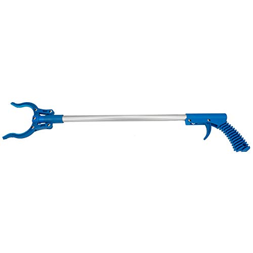 "Sammons Preston - 55391 26"" Standard Adapt-a-Reacher with Suction Cups, Secure Grip Extended Reach Picker Upper for Home & Assisted Daily Living, Large Jaw & Rubber Grips, Reacher Grabber with Rotating Head"
