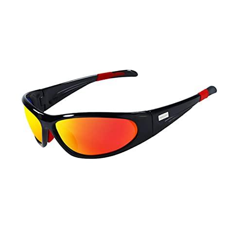 CHQY Gafas de ciclismo polarizadas con protección ultravioleta, para hombre y mujer, para deportes al aire libre, ciclismo, conducción, pesca, correr
