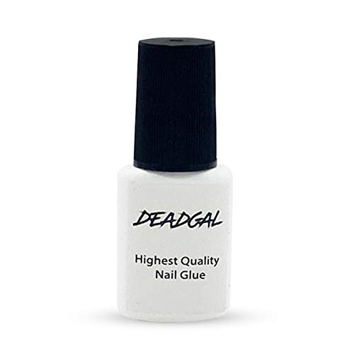 DEADGAL Professional Nail Glue for Acrylic Nails, Superior Hold Long Lasting Nail Adhesive, for Press on, Acrylic, Gel, Nail Tips and Artificial Nails, 7g
