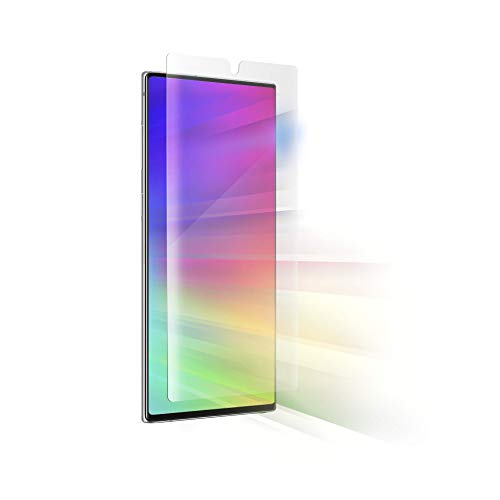 ZAGG InvisibleShield Ultra Vision Guard Film - Blocks Harmful High-Energy Visible (Hev) Blue Light and 99% of Uv Light from Your Device - Made for Samsung Note 10+