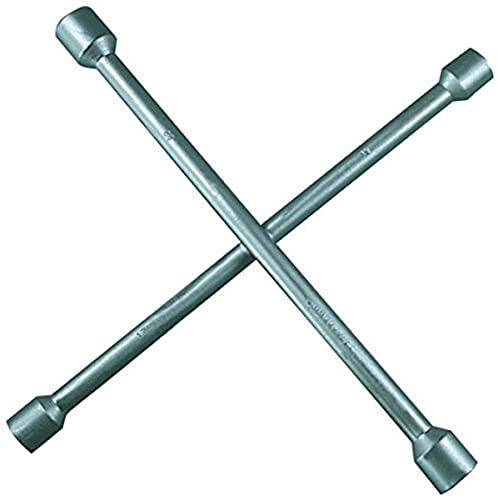 SW-Stahl 02200L Clé en Croix Selon DIN Têtes chromées polies 16-17 - 19-22 mm