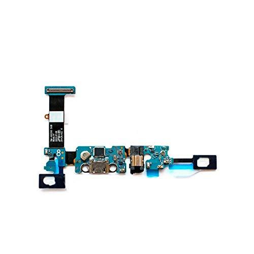ZHOUZHONGLAN Nuevo módulo de micrófono+puerto de carga USB Junta Flex Cable conector piezas para Samsung Nota 5 N9200 N9208