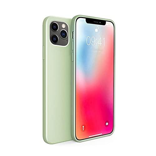 Lwcybh Adecuado para iPhone Funda para iPhone para iPhone 12 Pro MAX Magnetic Protective para iPhone 12 M-Ini Cargador inalámbrico Cubierta Protectora Transparente Ultrafina