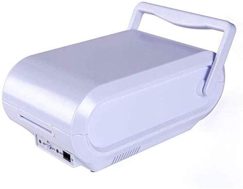 Mini refrigeradores caliente fría del refrigerador del coche portátil blanco for deportes al aire libre 12v (3l) portátil cosmética Bebidas 1yess