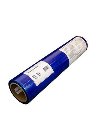Malerfolie Schutzfolie blau Abdeckfolie 100 cm x 100 m Fensterschutzfolie Fassadenschutzfolie Folie Oberfächenschutzfolie für Innen- und Außenanwendungen rückstandsfrei abziehbar