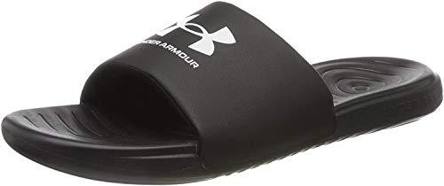 Under Armour Men's Ansa Fix Slide Sandal, Black (004)/Black, 10