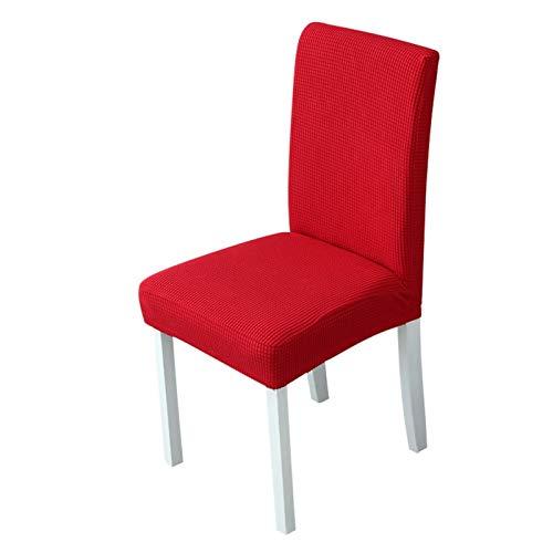 YAYANG Chair Cover 1/2 / 4 stücke Velvet Jacquard Esszimmerstuhlabdeckung Für Stühle Stretch Stuhlabdeckung Hochzeit Spandex Elastic Stuhl Slipcover Hülle Casual