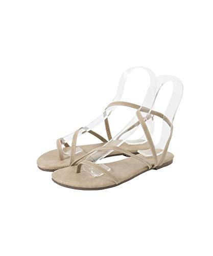 [アーバンリサーチ] 靴 サンダル アシンメトリーサンダル レディース UR15-2HP007 BEIGE 37
