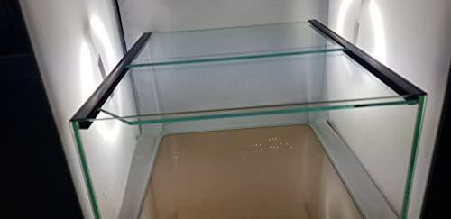Wirbellosenzucht-Foltis Nano Aquarium, Kallax Aquarium für Kallax Regale transparent verklebt