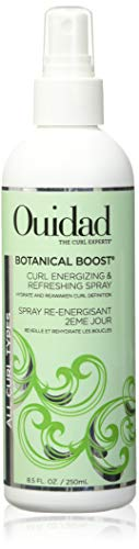 Ouidad Botanical Boost Curl Energizing & Refreshing Spray, 8.5 Fl oz