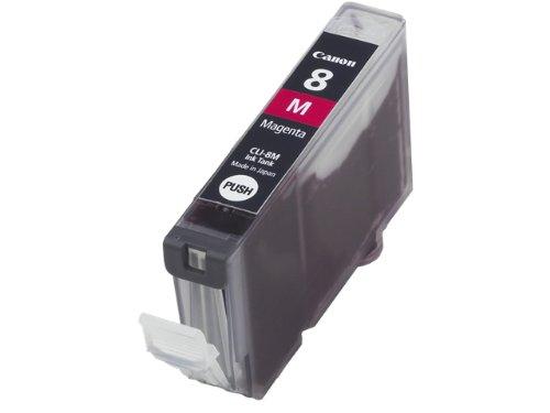 Canon Pixma IP 6600 - Cartucho de tinta original Canon 0622B001 / CLI-8M, color magenta