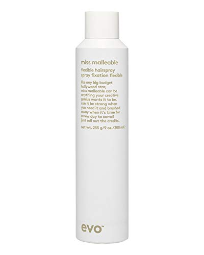 EVO Miss Malleable Flexible Hairspray, 7.6 Fl Oz