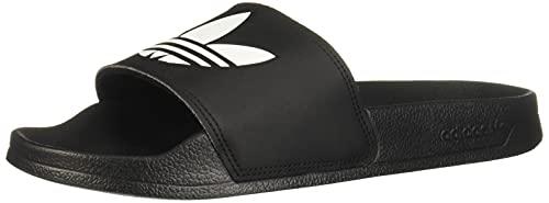 adidas Adilette Lite, Slide Sandal Hombre, Core Black/Footwear White/Core Black, 42 EU