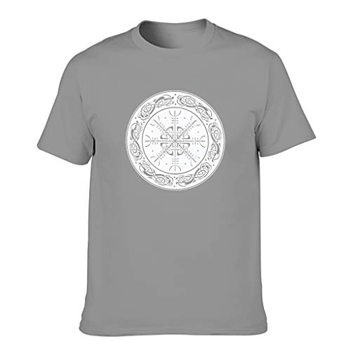 FFanClassic Hombres Cotton T-Shirt Viking Funny Stylish - Tops -La ropa de moda