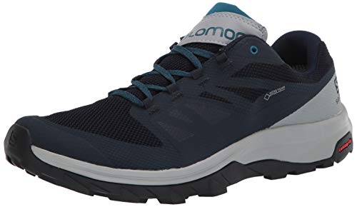 Salomon Herren 407970_46 Trekking Shoes, Navy, EU