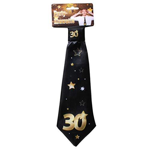 Udo Schmidt GmbH & Co Party-Krawatte mit Einer großen 30