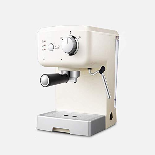 Allamp Café Espresso máquina de los 15 Bar, Capuchino, Espuma de Leche Espuma, 1050W, Capacidad 1,25 litros Bandeja de Goteo extraíble Boquilla de Vapor for la preparación de Bebidas Calientes