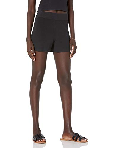 The Drop Women's Marta Pull-On Supersoft Sweater Short