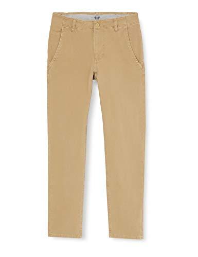 Dockers Smart 360 Flex Alpha Skinny Pantalones, New British Khaki, 28W / 30L para Hombre