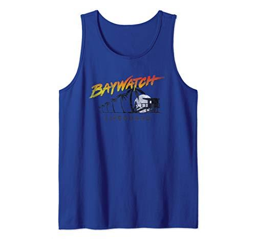 Baywatch Lifeguard Logo Tank Top, 5 Colors, Men, Women