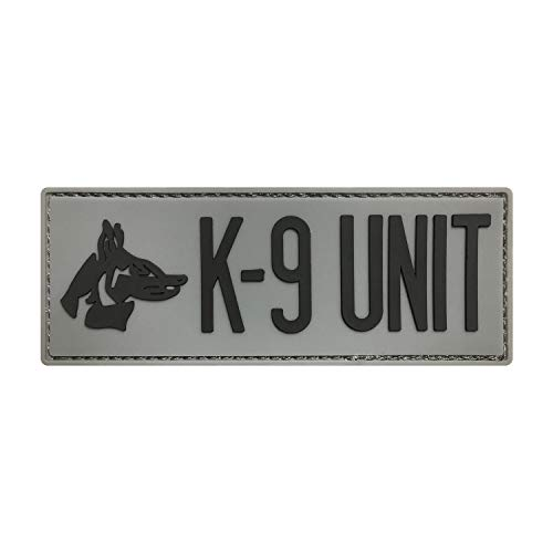 Morton Home K-9 Unit 3D PVC Rubber Tactical Morale Badge Patches