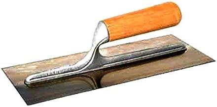 Mrinb Cazzuola per intonacare le pareti acciaio inossidabile 33 x 21 x 5 cm per muratore Attrezzi per raschietti per costruzioni per lisciare rapidamente il calcestruzzo