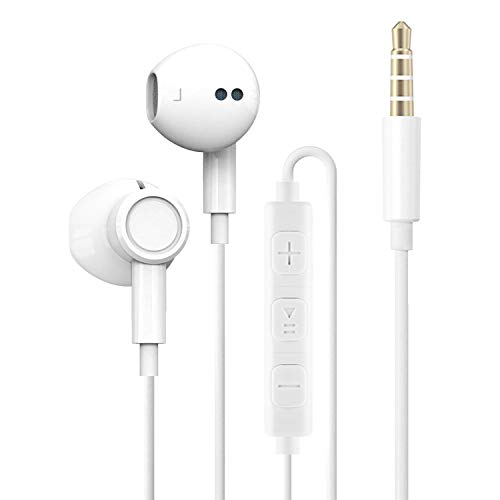 Earphones, In-Ear Headphones, Wired 3.5mm Earphones, Noise Cancelling...