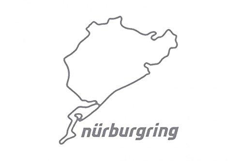 Nürburgring Aufkleber 8cm