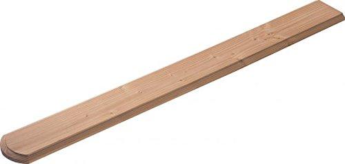 Zaunlatten für Holzzaun/Balkonbrett für Holzbalkon (5 Stück) - Douglasie - 4089/8 DO (ca.18x1050x115mm)
