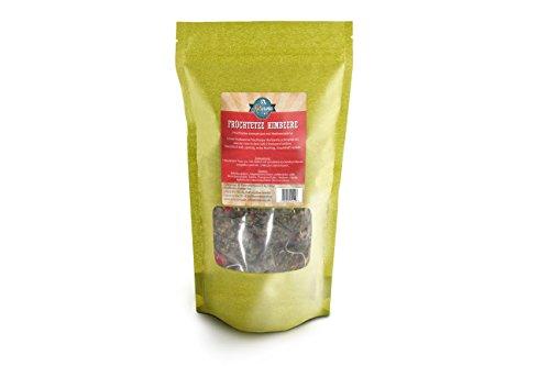 Kultaroma - Früchtetee Himbeere, 60 Pyramidenbeutel mit Blatt-Tee, Teebeutel Maxipack