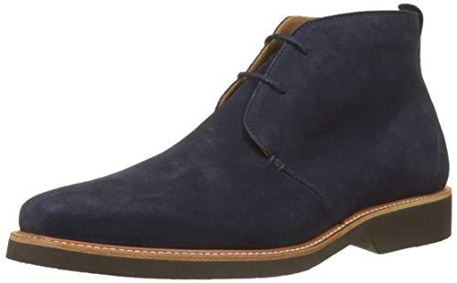 Sebago Herren Ankle Boot Suede Klassische Stiefel, Blau (Bleu 908), 43 EU