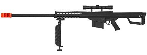 Lancer Tactical M82 50 Cal Spring Airsoft Sniper Rifle Gun Marksman FPS 435 w/ 3-9x40 Scope