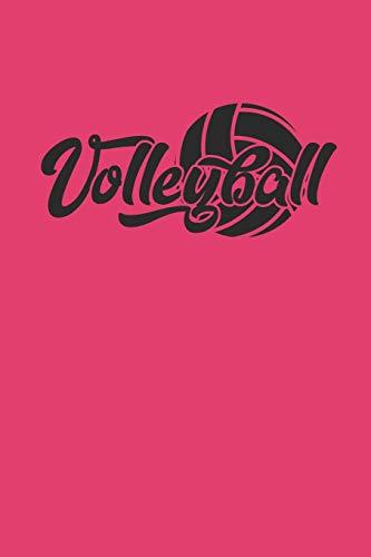 VOLLEYBALL: Notizbuch für Volleyball Spieler Notebook Journal 6x9 kariert squared karo