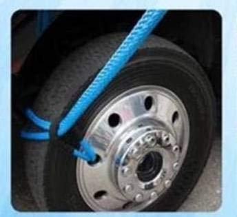 "BA Products 4R2-3806 Super Strong 3/8"" x 6' Synthetic Rim Sling 3500 LB, Lifting Strap, for Wrecker, Tow Truck, Crane, Winch Recovery"