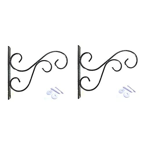 Planters Wall Decorative Iron Bracket - Set of 2