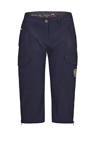 G.I.G.A. DX Women Capri Pants Ivona, Couleur:Navy, Taille:38