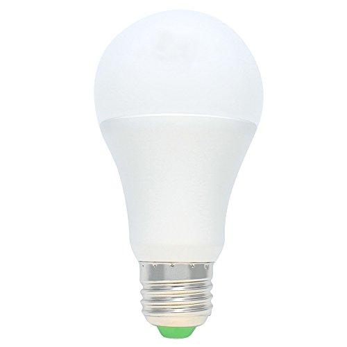 1er E27 5W LED Dämmerungssensor Glühbirne Sensor Birne Nachtlicht für Hauseingang, Korridor, Treppe, Garten Warmweiß 3000K