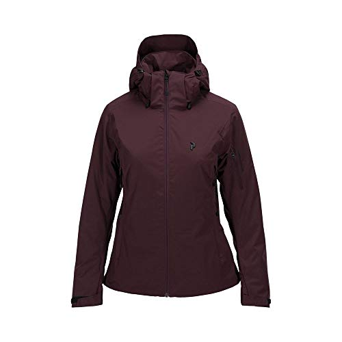 Peak Performance Damen Skijacke Anima Bordeaux (502) L