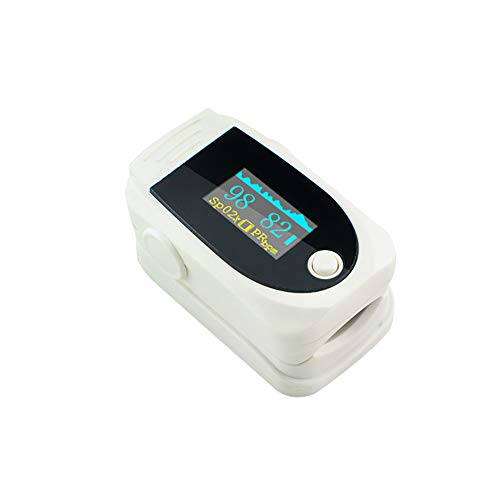 Vitacarry - Pulsioxímetro de dedo con pantalla a color