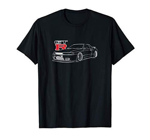 JDM CAR line art R32 T-Shirt