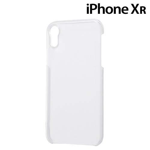 レイ・アウト iPhone XR用 ハードケース 軽量 フレキシブル(クリア) RT-P18TC90/CM