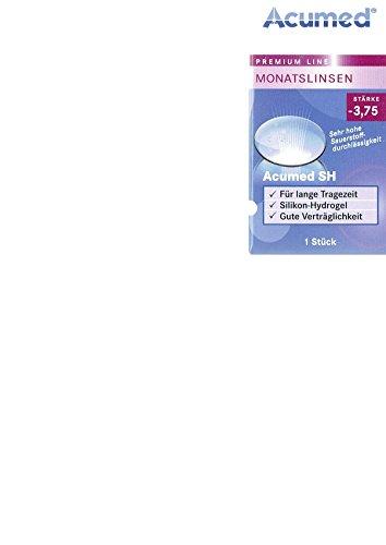 Acumed SH Monatslinsen weich, 1 Stück/BC 8.6 mm/DIA 14.2 mm / -3.75 Dioptrien