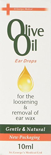 Olive Oil Ear Drops For The Loosening & Removal Of Ear Wax 10ml