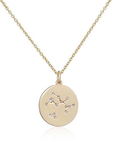 Pilgrim Damen-Kette mit Anhänger teilvergoldet Kristall weiß Rundschliff 27 cm - 521612111