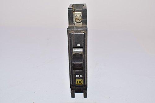 Schneider Electric/ Square D QOU110 Miniature Thermal/Magnetic Circuit Breaker 10 Amp, 1-Pole,