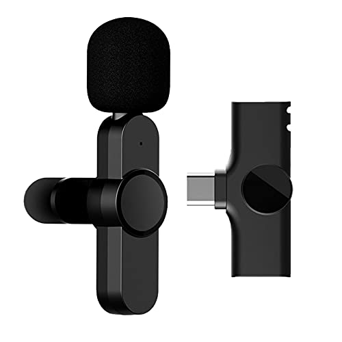 Audio Opname Draadloze Lavalier Microfoon, Automatisch synchroniseert Mic Revers Microfoon voor YouTube Facebook Live…