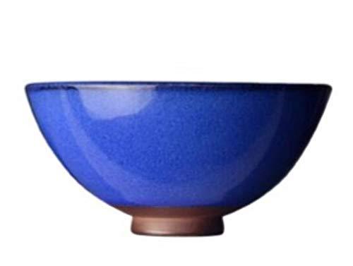 JUNYYANG Inicio Creative vajilla a Mano de cerámica Pintado Ensaladera hogar Retro del Cuenco de arroz Olla de Barro